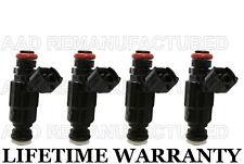 Genuine Hyundai Set Of 4 Fuel Injectors For Hyundai Accent 00-05 1.5L 1.6L