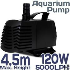 NEW 5000LPH Aquarium Water Pump Submersible Fish Pond Water feature Fresh Salt