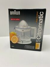 Braun MPZ7 Citromatic 20 oz Citrus Juicer NEW in box