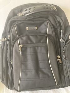 Kenneth Cole Reaction Black EZ-Scan Checkpoint Friendly Backpack
