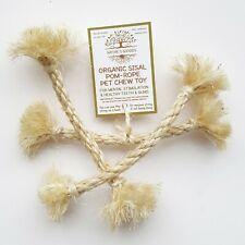 Organic Sisal Pom-Rope Pet Chew Toy for Rabbit Guinea Pig Rat Small Pets & Birds