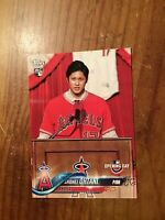 Shohei Ohtani 2018 Topps Opening Day #200 RC - Los Angeles Angels