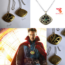 Doctor Strange Dr Eye of Agamotto Necklace Amulet Glow in The Dark Cosplay