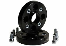 20mm Wheel Spacer Pair VW MK1 MK2 MK3  SET + BOLTS 4x100 anodized BLACK SPACERS