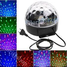 SFERA LUCE LED RGB LAMPADA EFFETTI STROBO DA DISCOTECA USB SD RAGGI MULTICOLORI
