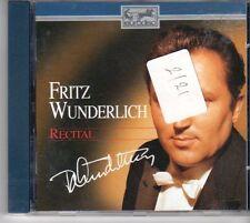 (DM261) Fritz Wunderlich, Recital - 1989 CD