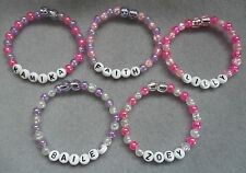 Personalised Bracelet - Assorted Colours