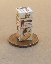 1:12 Old Style Empty Weetabix Cereal Packet Dolls House Kitchen Accessory Ad