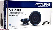 "Alpine SPE-5000 5-1/4"" Car Speakers/5.25"" Car Audio Speaker Type ESeries SPE5000"