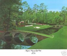 """Augusta National Golf Club  Amen 12 """"Golden Bell""""  giclee art  print 16x20"""