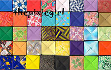 JAPANESE ORIGAMI PAPER HANDMADE 20 MINI FOLDED BOXES CUTE FOR JEWELRY