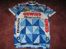GEWISS BIANCHI Campagnolo Castelli italien Maillot de cyclisme [V] 1987/89