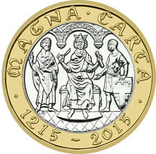 2015 £2 MAGNA CARTA DECLARATION 800TH ANNIVER 31/32 UNCIRCULATED TWO POUND 2 !