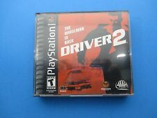 PlayStation 1 Driver 2 The Wheelman Is Back 2 Discs Rated T