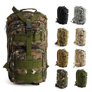 Sac à dos Armée Militaire randonnée tactique alpinisme étanche Camping FR