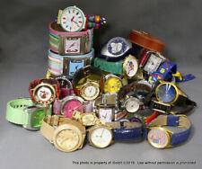 LOT WOMENS WATCHES Swatch Seiko, Heidi Klum, Fossil, Perry Ellis, Citizen Diesel