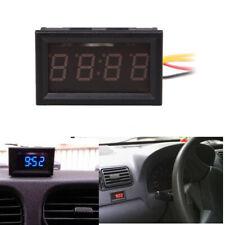 4 Digit 0.4inch LED Digital Electronic Clock for Car Motorcycle Motor C#P5