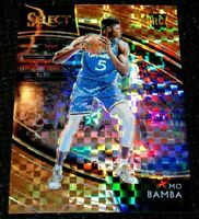 MO BAMBA 18-19 SELECT COURTSIDE COPPER PRIZM PARALLEL ROOKIE RC MAGIC SSP 45/60
