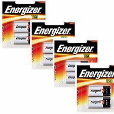 8 x Energizer CR123A CR123 123 3v Lithium Photo Battery Exp 2023