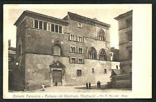 Corneto Tarquinia ( Viterbo ) -  cartolina viaggiata primi del '900 + Corriera