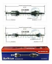 For Chrysler Plymouth Grand Voy Caravan FWD 2 Front CV Axle Shaft Set_HL