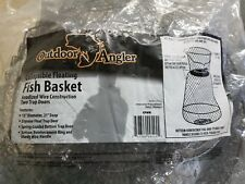 Outdoor angler Fish Basket -new