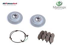 range rover sport front brake discs and pads sdb000604 lr019618 sem000024 05-10