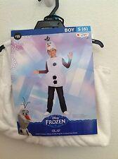 Disney Frozen Olaf Winter Complete Costume Dress Up Hat Warm Size 6 New!