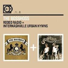 THE BOSSHOSS - 2 FOR 1: RODEO RADIO/INTERNASHVILLE URBAN HYMNS; 2 CD ROCK NEU