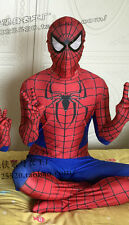 Spiderman costume children size Mascot fancy dress120-130cm free shipping