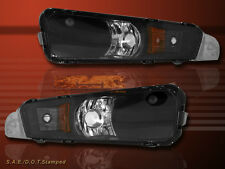 05-07 FORD MUSTANG CORNER SIGNAL BUMPER LIGHTS BLACK 06
