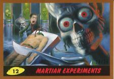 Mars Attacks The Revenge Bronze [25] Base Card #12 Martian Experiments