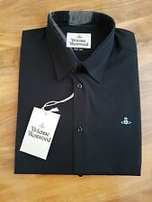 BNWT Men's Vivienne Westwood Black Shirt Size 54 XXL