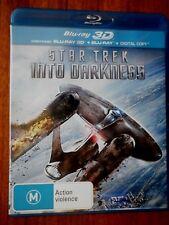 Star Trek Into Darkness [3D Blu-ray + Blu-ray] (2 Discs) Blu-ray