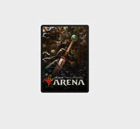 Exclusive Sword Throne of Eldraine Sleeves FNM MTG Arena Code Email Delivery