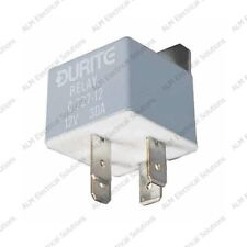 12V Mini Make/Break Relay - 30A - Durite - 0-727-12