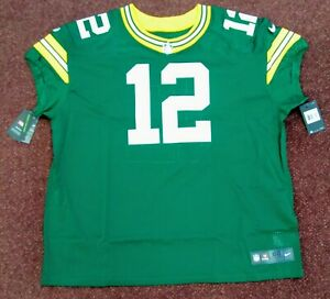 NEW Nike Aaron Rodgers NFL Authentic On The Field Jersey SZ 60 Packers $325