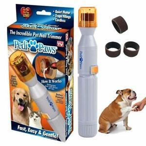 NEW PediPaws Battery Power Incredible Nail Trimmer for Pets! FAST EASY GENTLE⚡️