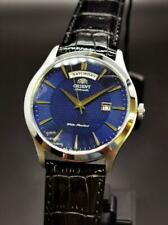 Orient Union Day Date Blue Dial Automatic Watch FEV0V003DH