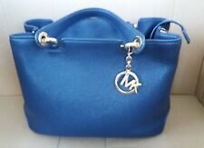 Genuine Michael Kors Leather Anabelle Medium Tote In Admiral Blue - RRP £330