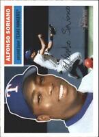 2005 Topps Heritage Baseball Base Singles #3-160 (Pick Your Cards)