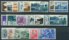 1954 Trieste A annata completa nuovi ** integri AMG FTT