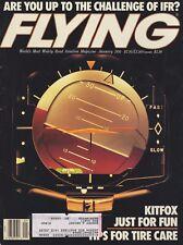 Flying Magazine (Jan 1991) (Tire Care, Flying IFR, MEL, Kitfox, Ice Detector)