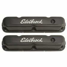 Edelbrock 4473 Signature Series Valve Covers, For 1965-1991 Chrysler 318-340-360