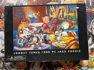 Vintage - Looney Tunes 1000 piece Puzzle - Warner Bros. studio store 1999 Rare