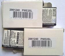 2x cameron sino cs-pme2sl 1050mah 3.7v Palm Tungsten e2