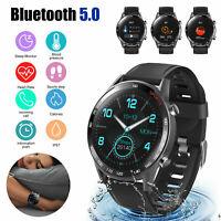 Smart Watch ECG Blood Pressure Oxygen Heart Rate Monitor Sports Waterproof IP67