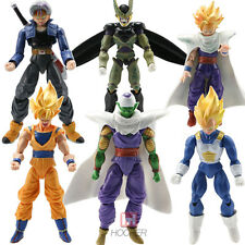 6pcs Lot Japan Anime Dragon Ball Z Action Figure Joint Movable Goku Piccolo Toys