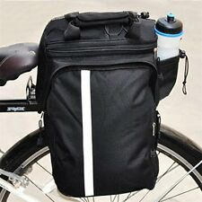 Cycling Bicycle Bike Pannier Rear Seat Bag Rack Trunk Handle Handbag Storage KG