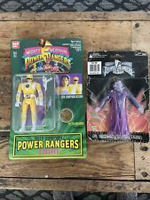 2 BAN DAI Mighty Morphin Power Rangers Figures